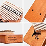 Enya 17 Keys Kalimba Thumb Piano Solid Mahogany