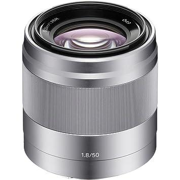 8634446a35 Amazon.com : Sony 50mm f/1.8 Mid-Range Lens for Sony E Mount Nex Cameras :  Digital Slr Camera Lenses : Camera & Photo