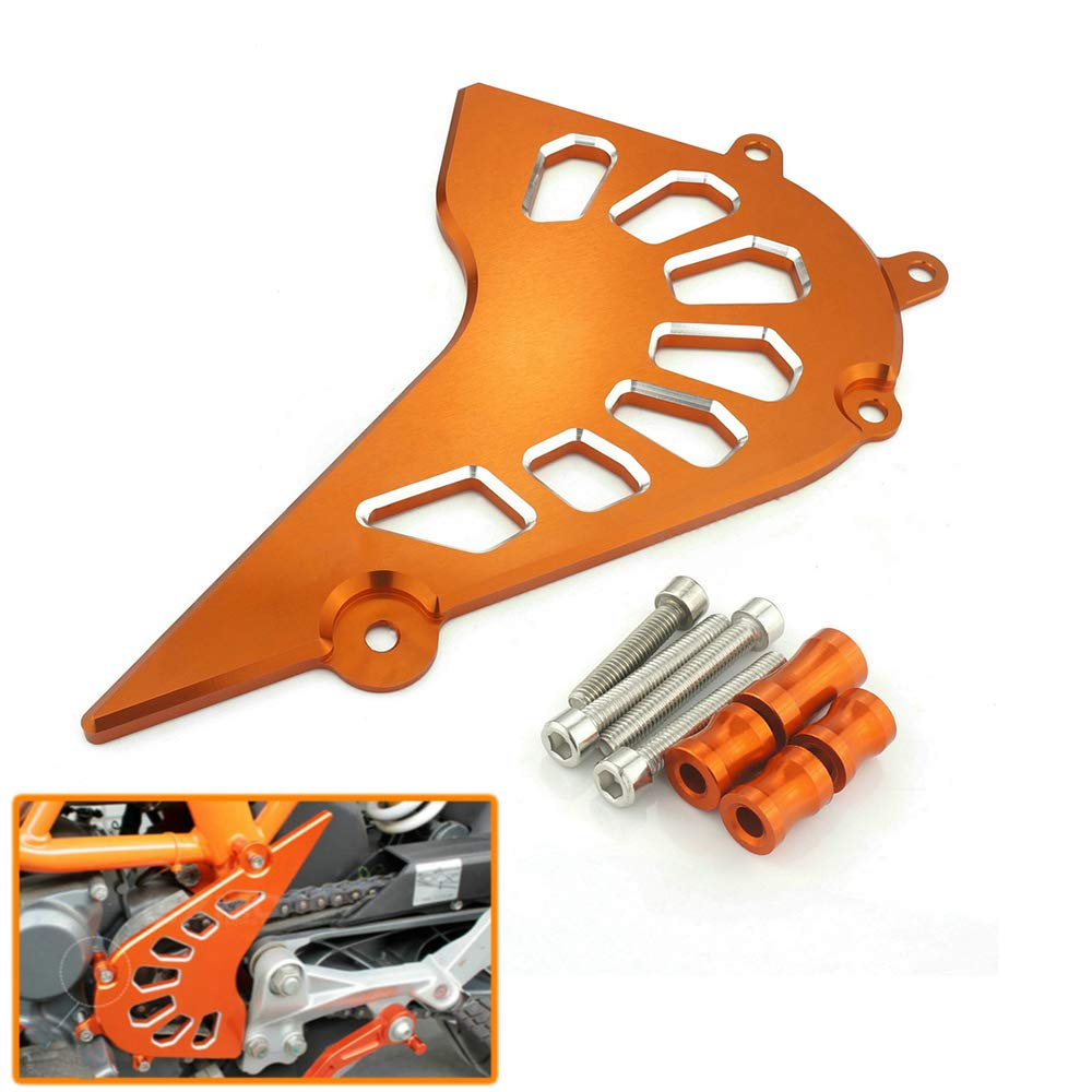 QIDIAN FOR KTM DUKE 390 2013 2014 2015 2016 2017 2018 Motocross Accessories FOR KTM RC 390 RC390 Front Sprocket Chain Cover FOR KTM 390