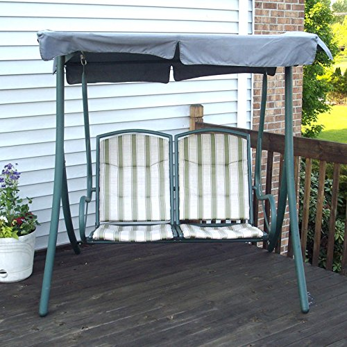 Garden Winds 2 Seater Swing Replacement Canopy Top Cover