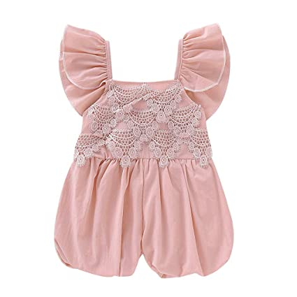 Fashion Striped Toddler Kid Baby Girl Romper Harem Pants Jumpsuit Outfit Clothes