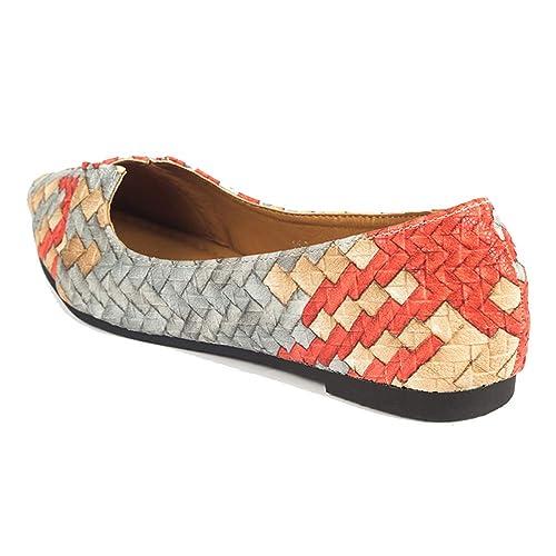 Resbalón de Las Mujeres en Planos de Barco Zapatos Mocasines tacón Zapato Casual clásico Dedo del pie Puntiagudo Caminar Bombas: Amazon.es: Zapatos y ...