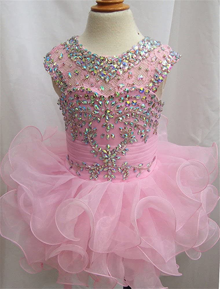 G.CHEN ChengCheng Toddlers Girls Custom Made Pageant Cupcake Dress