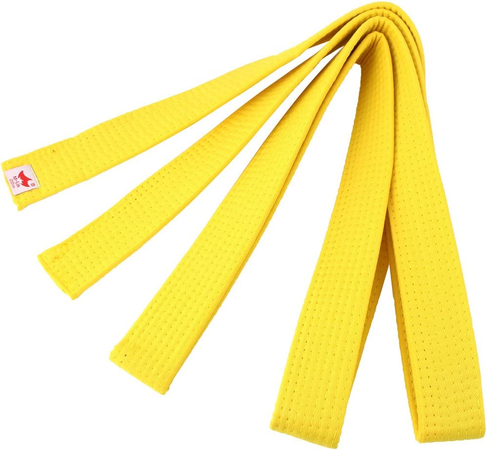 sourcing Map Judo Taekwondo M/élange Coton Ceinture Bande uni250cm Longue