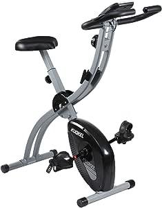 KUOKEL - Bicicleta estática Avanzada para Bicicleta Plegable con 8 ...