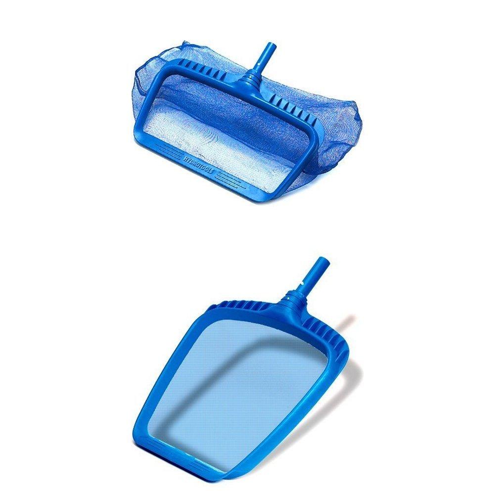Swimline 8040 Professional Heavy Duty Deep-Bag Pool Rake, Blue WITH Swimline Hydro Tools 8039 Professional Heavy Duty Leaf Skimmer