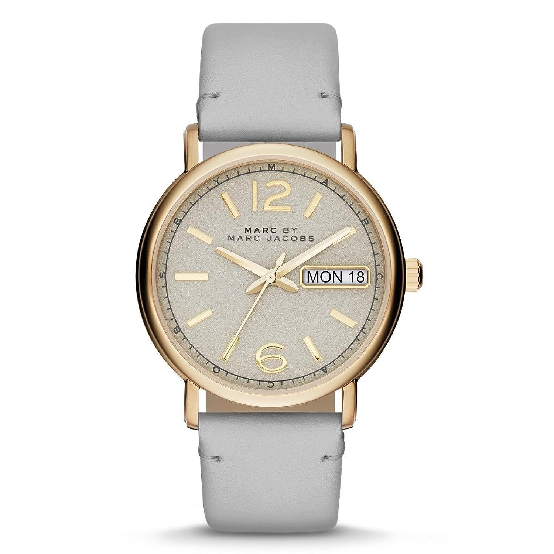 Leder Fergus Damen Uhr Zifferblatt Grey Grey