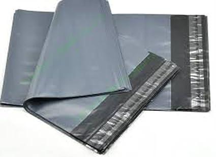 5 bolsas para envíos postales, extra grandes, color gris ...