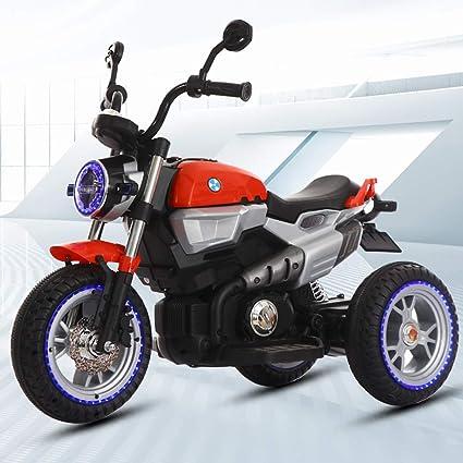 DDCX Los niños Antiguos de la Motocicleta eléctrica de Tres Ruedas de Gran tamaño 3-