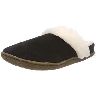Sorel Nakiska Slide II Black/Natural 7 | Slippers