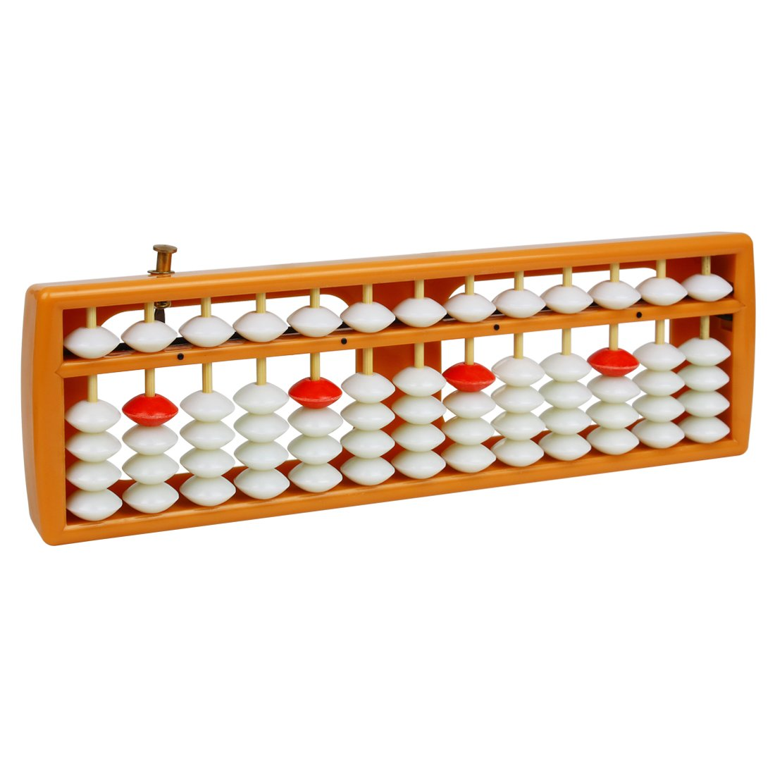 Larcele Bead Arithmetic Counting Abacus with Reset Button School Supplies for Children, 13 Column SP-02