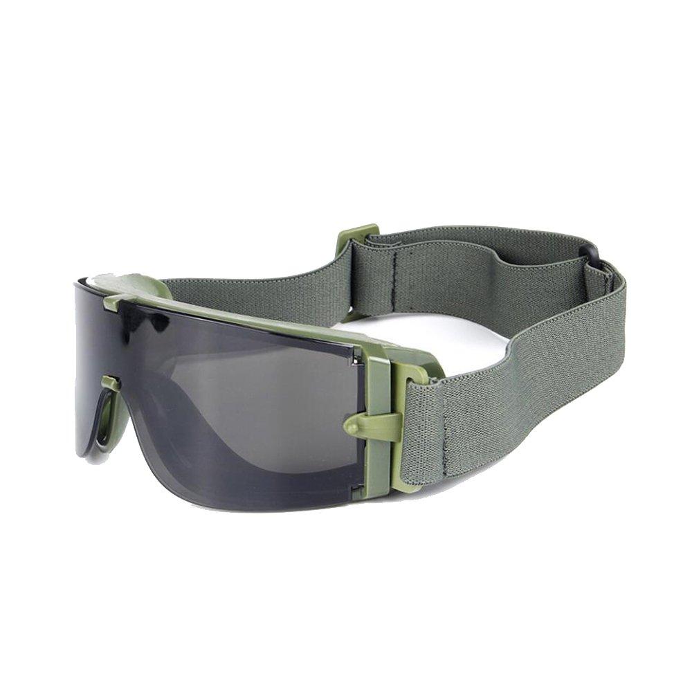 Balística X800 ejército gafas de seguridad 3 kit de lentes ...