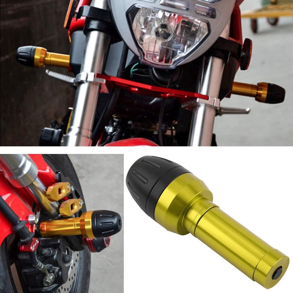 Aluminum Exhaust Pipe Frame Sliders Black Cuque Motorcycle Adjustable Rear Pipe Crash Protector Exhauster Protector Sliders Falling for Yamaha Xmax 250 Aerox NVX Nmax 155 Kawasaki Honda