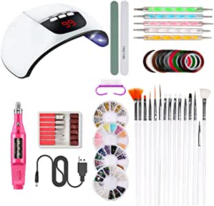Beaupretty 1 Set of Tools Practical Exquisite Reusable Durable Portable Nail Art Tools Set Manicure Kit for Professional Manicurists Beginners