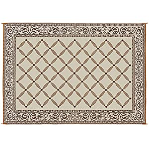 Reversible Mats 119127 Brown/Beige 9'x12′ RV Patio Mat