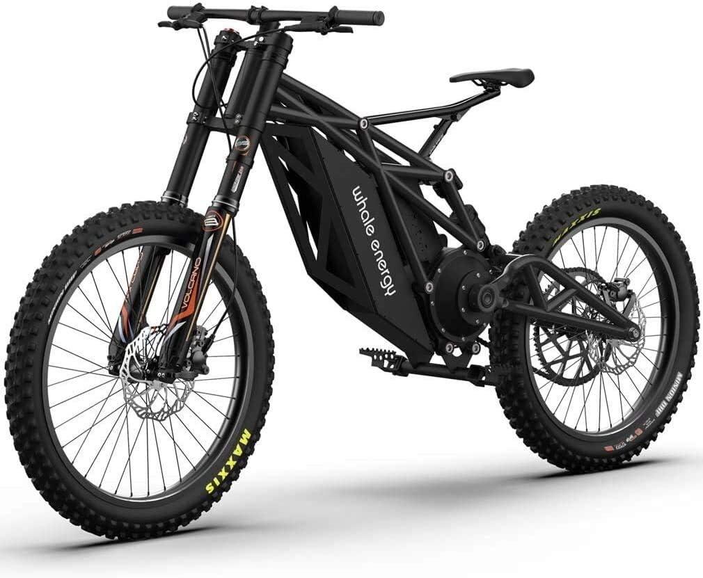 QZ Adulto Bicicleta de montaña eléctrica, Todo Terreno Fuera de Carretera Nieve Motocicleta eléctrica, Equipado con 48V20AH x -21.700 batería Li-Innovación del Crucero de Bicicletas (Color : Black): Amazon.es: Deportes y aire
