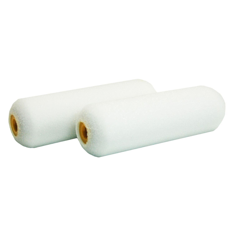2-Pack Shur-Line 4940C 4-Inch Foam Mini Roller Refills