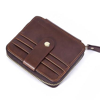 Womail Men Bifold Handbags Coin ID Credit Card Change Holder Wallet
