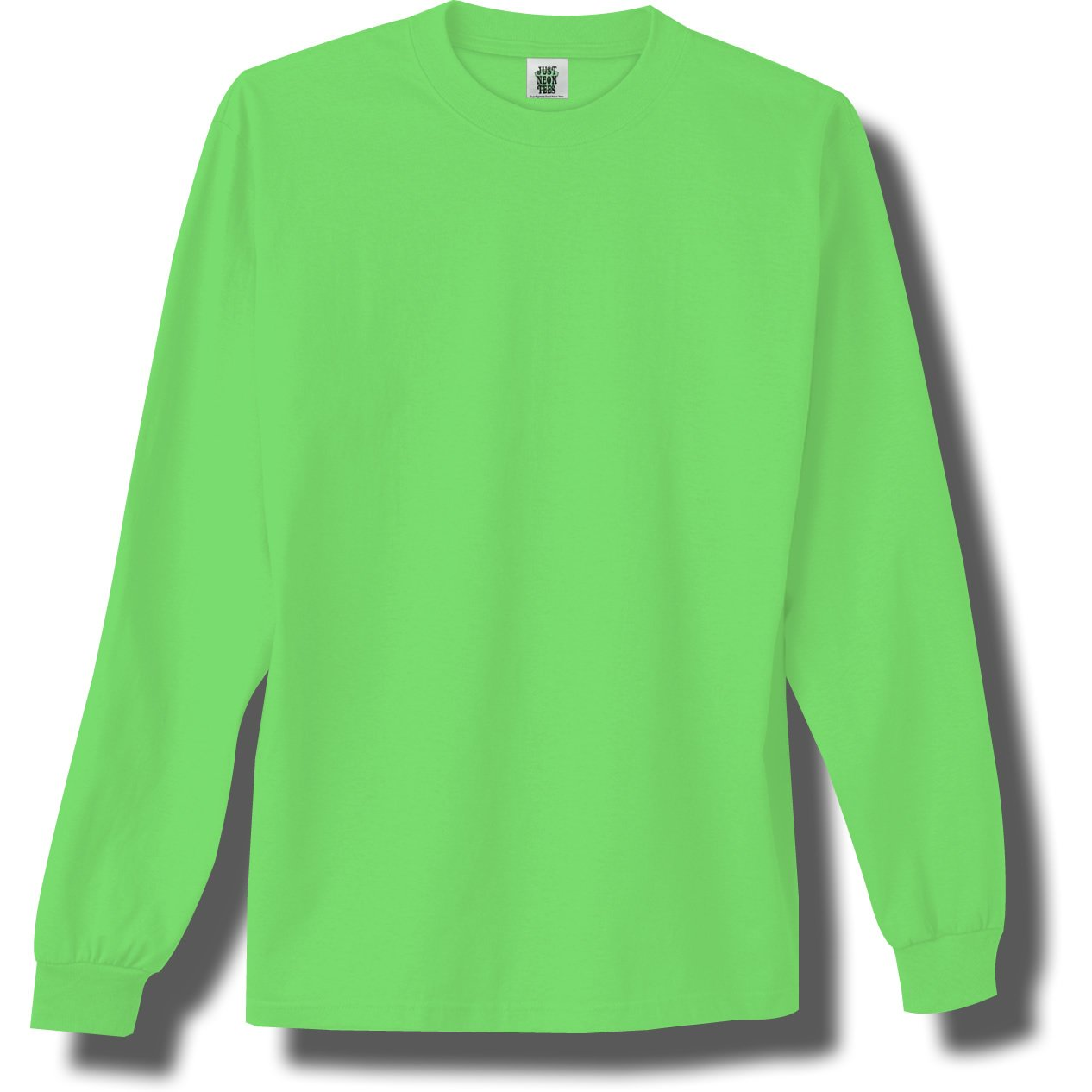 Bright long sleeve shirts custom shirt for Neon green shirts for men