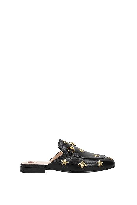 Zapatillas y Zuecos Gucci Mujer - Piel (505268D3V00) EU: Amazon.es: Zapatos y complementos