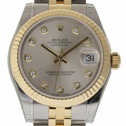 Rolex Datejust Reloj Suizo automático Femenino 178273 (Certificado prepropietario)