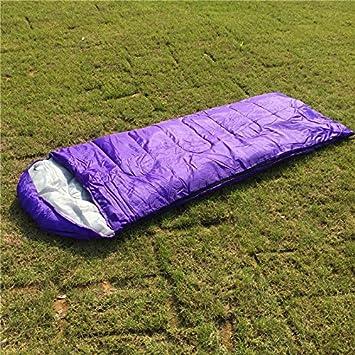 Compacto Mama ligero Muir Primavera Verano Otoño Saco de dormir juvenil 40 °F/5 °C con kompressing Bolsa Incluye,, morado: Amazon.es: Deportes y aire libre