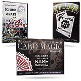 Magic Makers The Master's Card Magic Illusion Kit - 2 DVDs and Bonus Coin Magic