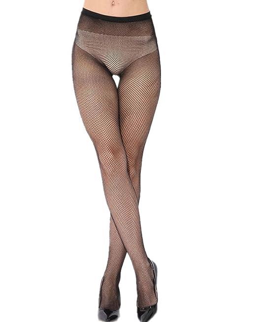 weltweite Auswahl an Billiger Preis erstaunlicher Preis Vesgantti Netzstrumpfhose Netz Strumpfhose Spitze Oberschenkel Schwarz  Strumpf Hose Kostüm (Kleines Netz)