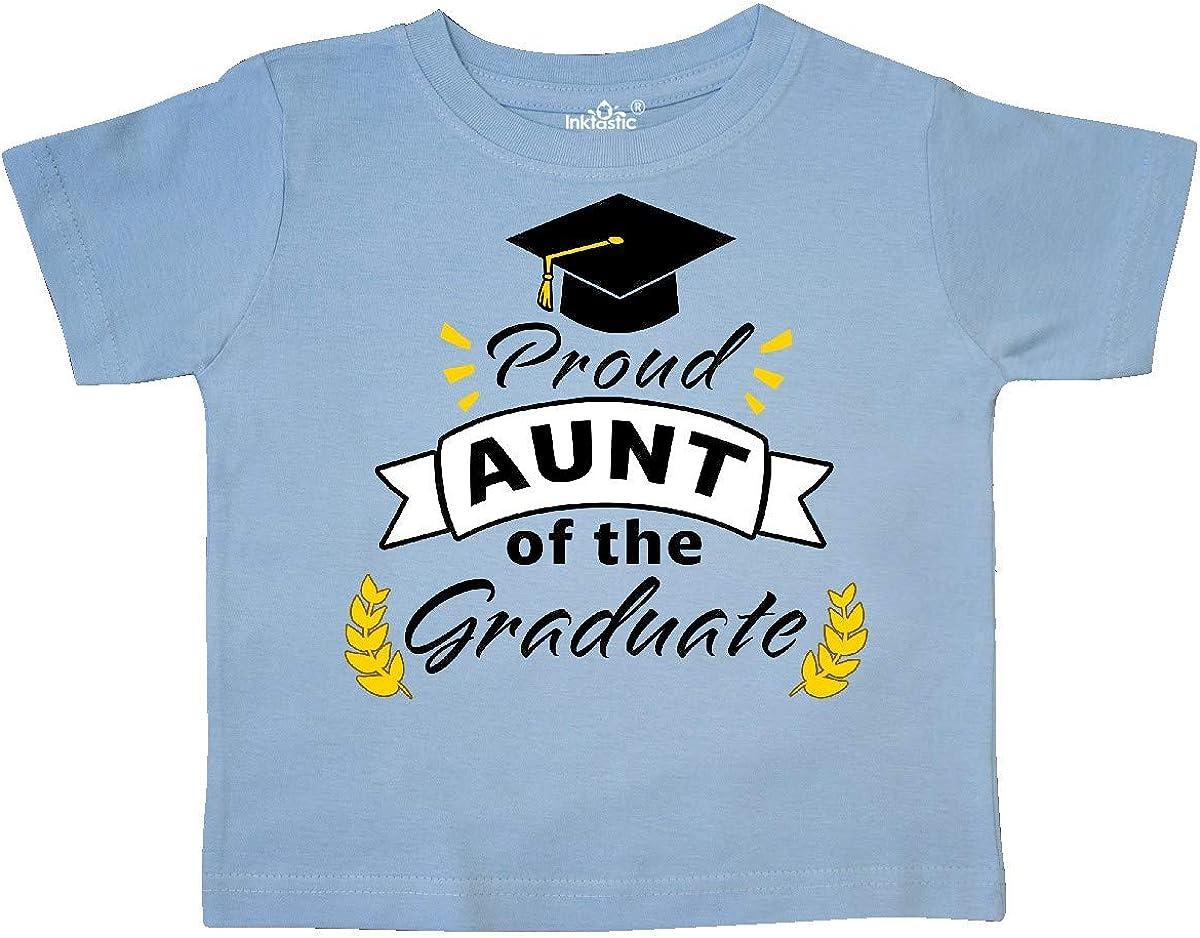 inktastic Proud Aunt of The Graduate-Family Graduation Toddler T-Shirt