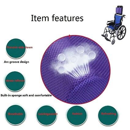 Cojín de cabeza para sillas de ruedas universal Almohada de cuello ajustable Heightening Accesorios para sillas