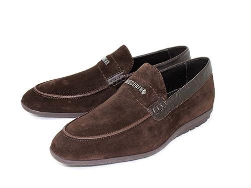 Moschino - Mocasines para hombre, color marrón, talla 40: Amazon.es: Zapatos y complementos