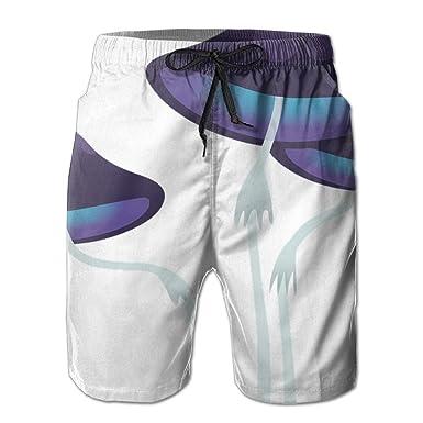 fc5bb99393 Mushroom High Waisted Durable 100% Polyester Not Fade For Men Beach Shorts  Beach Trunks Hot