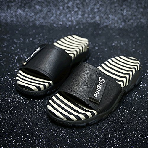 Shoes Flip Flop Color Size Slippers BLACK Black Sports 0 Fashion Wear Summer 5 Female Sandals xrSr0nqUw
