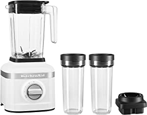 KitchenAid KSB1332YWH K150 Blender, 48 oz, White