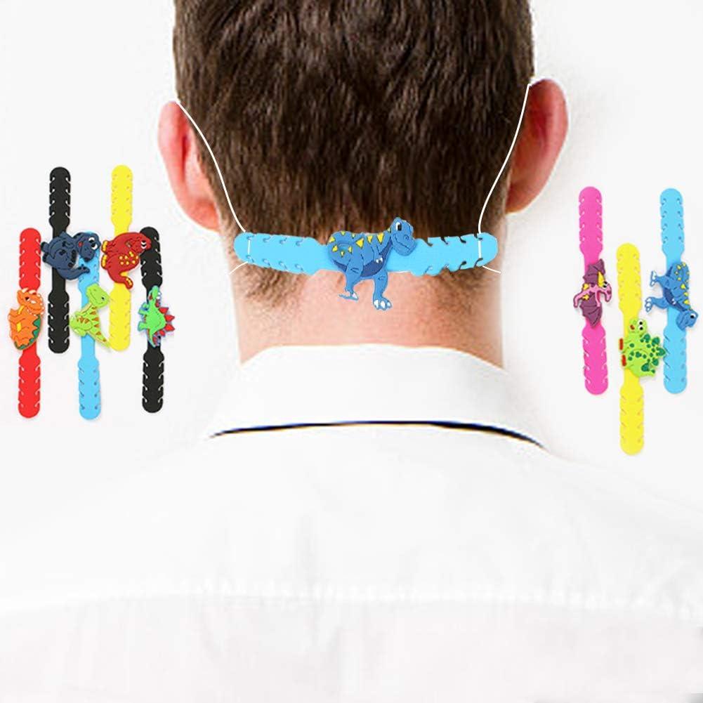 Ohrenschutz Haken Maskenverl/ängerung Schutz f/ür Erwachsene und Kinder Ohrriemen Zubeh/ör verstellbare Ohrsch/ützer f/ür Masken Dekompressionshalter