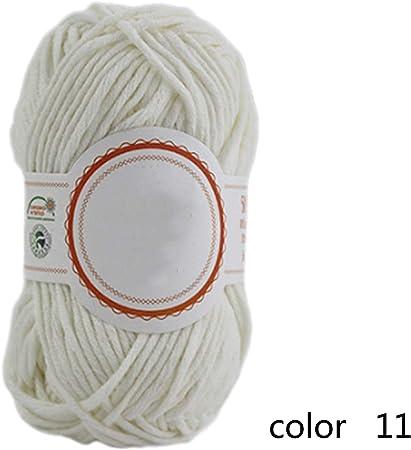 Térmica Hilo para tejer Hilo Tejido de grosor medio 7 Línea de bufanda de algodón nitrilo