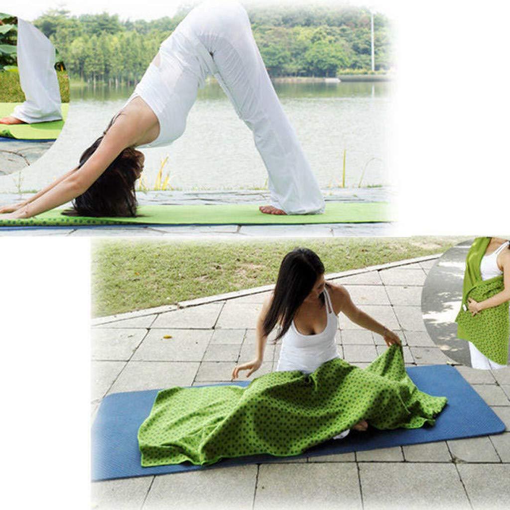 NIUQY Moda Personalizada Estera Yoga Deporte Fitness Viaje ...