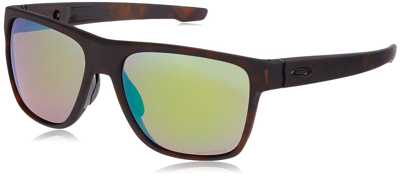 TALLA 58. Oakley Crossrange XL, Gafas de Sol para Hombre, Matte Rootbeer, 58