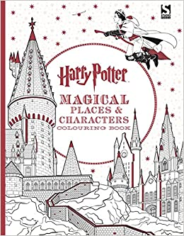 Harry Potter Magical Places And Characters Colouring Book 3 Amazoncouk Warner Brothers 9781783706006 Books