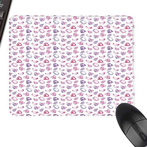 (Hot Selling Extra Large Mouse Pad,Diamonds,Natural Rubber Gaming Mouse Mat,23.6