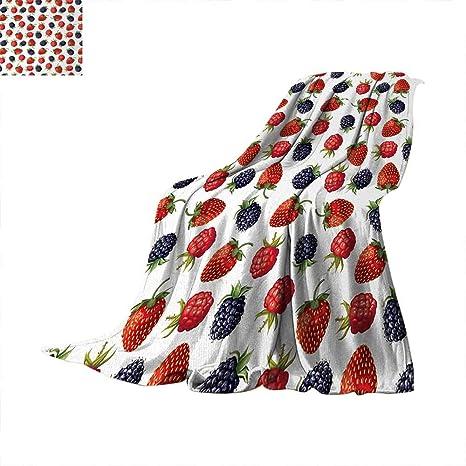 Amazon.com: Anhuthree Manta de fruta de granada hecha a mano ...