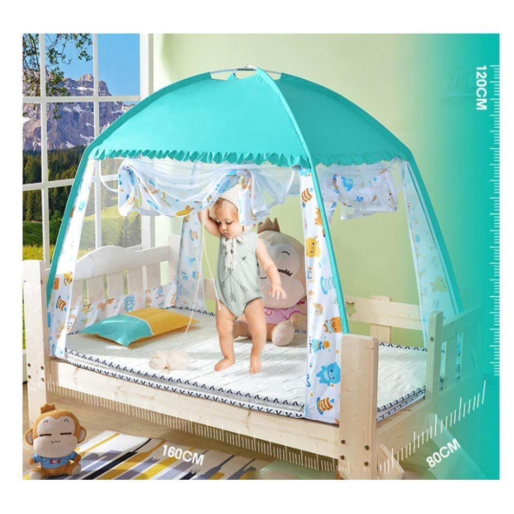 NSHUN Pop-Up Mosquito Net Tent for Beds Anti Mosquito Bites Folding Design with Net Bottom for Babys Adults Trip (Size : 1.5m) by NSHUN (Image #3)