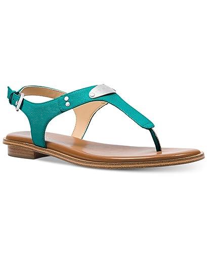 4469207759d6 MICHAEL Michael Kors MK Plate Flat Thong Sandals (8 M US