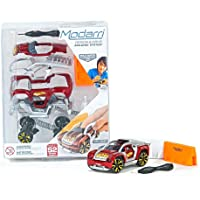 Modarri S2 Inferno Car with Barriers Building Set
