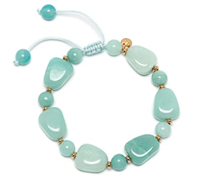 Lola Rose Women Blue Coral Quartz Strand Bracelet of Length 18cm 693875 dyFfa