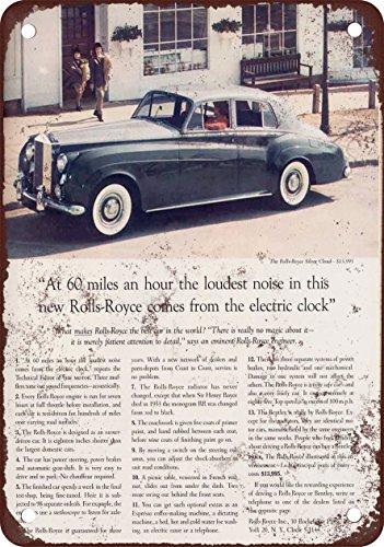 7-x-10-metal-sign-1959-rolls-royce-silver-cloud-vintage-look-reproduction