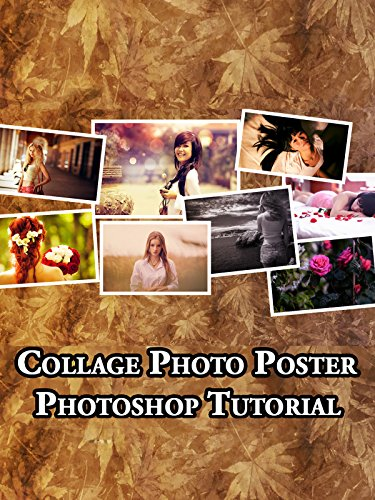 Collage Photo Poster   Photoshop Tutorial