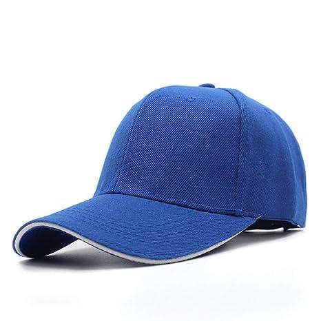 ZSERTY Gorras de béisbol para Mujeres para Hombres Snapback Liso ...