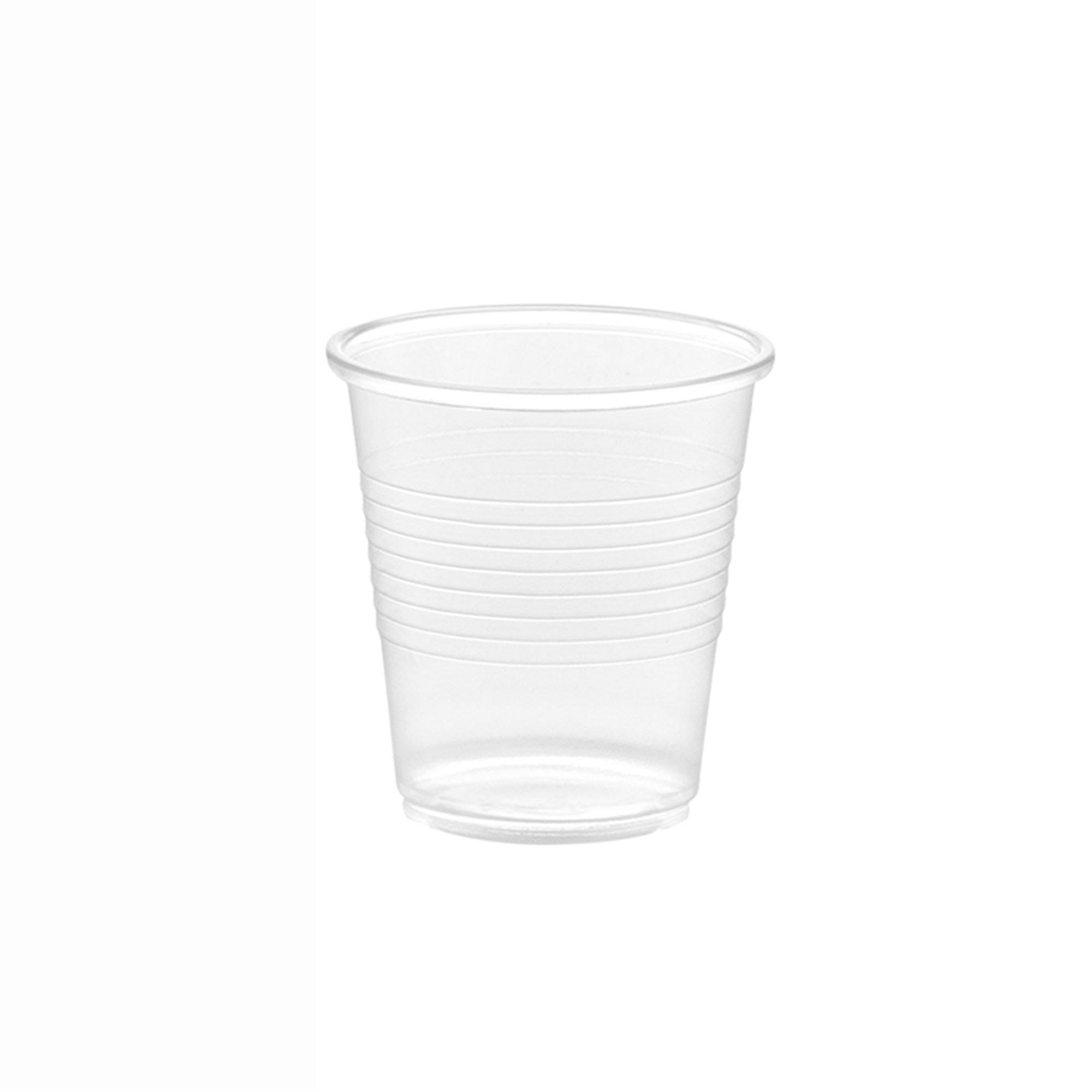 100 Pack Disposoware 3 oz Disposable Plastic Cups