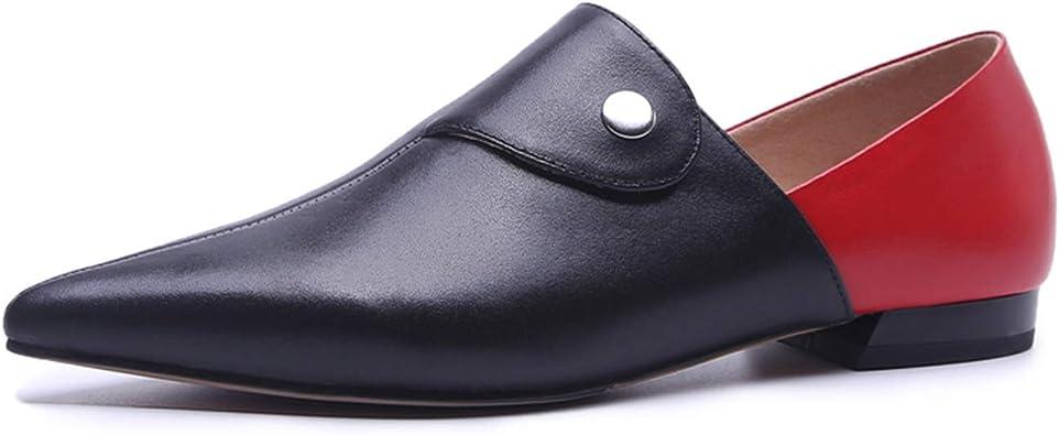 Fashion Genuine Leather Pumps Spring